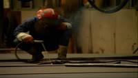 实拍工业-氩弧焊