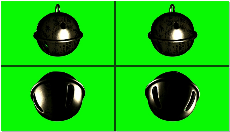 绿屏抠像铃铛