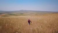 东欧秋天山川湖泊自然风光高清实拍视频素材