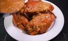 烹饪活螃蟹