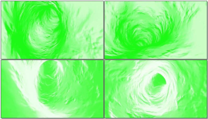 绿屏抠像水中漩涡