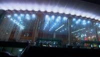 宁波夜景+城市灯光+喷泉