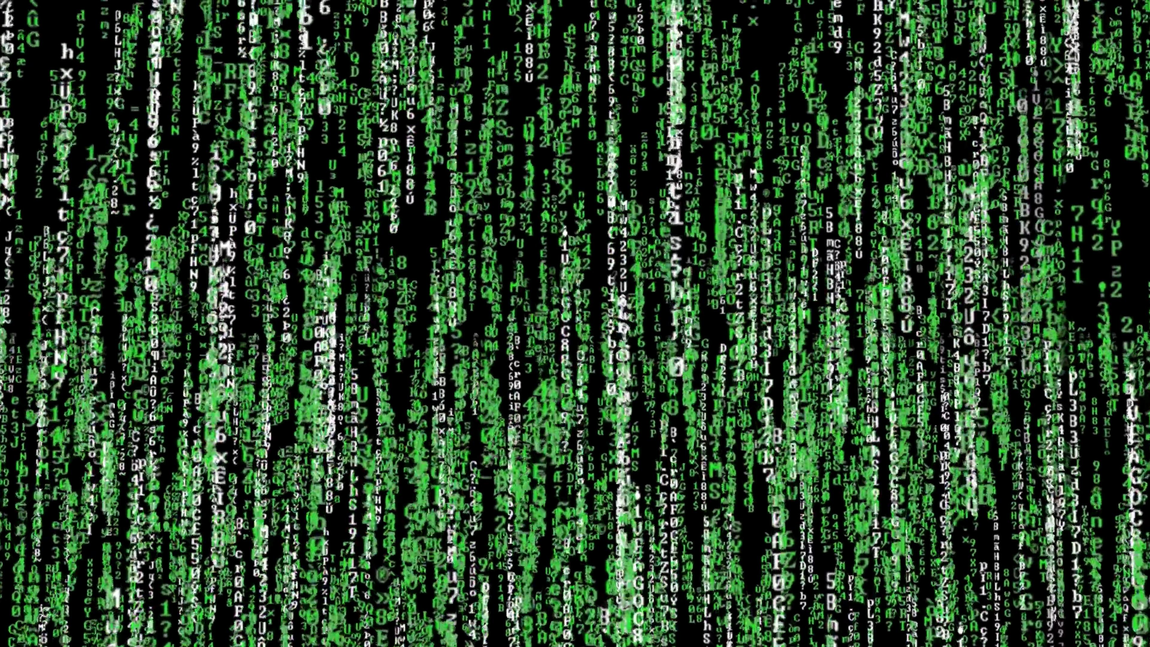 \[4K\]黑客帝国数字雨