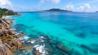 普吉岛塞班岛马尔代夫塞舌尔海岛风光视频素材