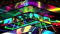 万花筒LED循环混合舞台图形视觉效果