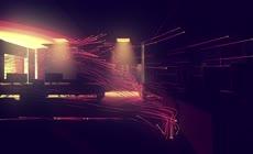 梦幻唯美的粒子动画作品《一个亮点》