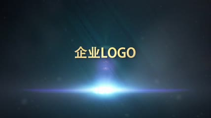 金属质感LOGO片头AE模板