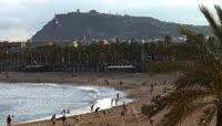 海边沙滩游玩1