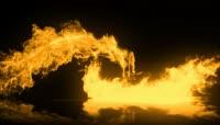 火焰转场LOGO展示PR模板(CC2017)