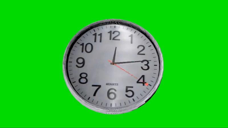 绿屏抠像钟表