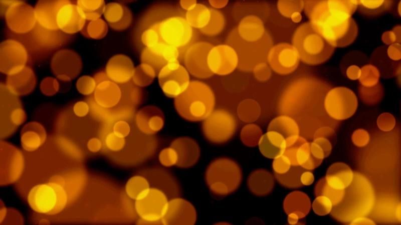 \[4K\]黑夜里的黄色光斑