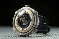机械钟表指针走动 手表齿轮旋转特写3
