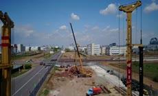 一带一路视频素材 基础设施建设 建筑施工工地现场