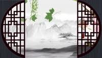 中国风 水墨 水墨画 水墨山水视频素材