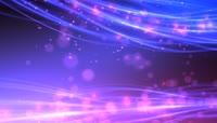 唯美浪漫紫色光线特效晚会背景视频