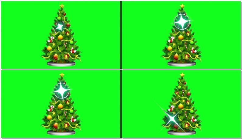 \[4K\]绿屏抠像圣诞树