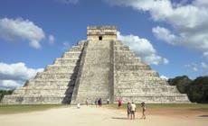 南美洲古代玛雅文明 玛雅人金字塔视频素材