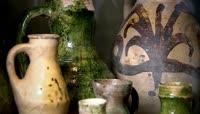 彩陶_陶器文化_陶罐容器视频素材 陶艺 陶瓷艺术