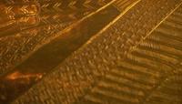 古代埃及法老王图坦卡蒙_黄金棺材棺椁象形文字符号