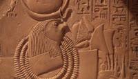 古代埃及文化壁画石雕浮雕_博物馆藏品展品
