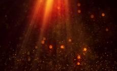 大气绚丽光影星光背景视频素材