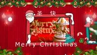 圣诞节贺卡AE模板\(CC2018\)