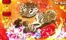 2019猪年贺新春通用背景视频