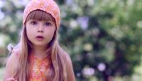外国可爱小女孩吹蒲公英 国外小朋友苹果 小萝莉吃东西