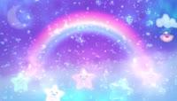 彩虹的约定六一儿童节LED舞台背景