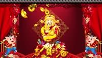 2019猪年新年春节拜年贺岁PR模板(CC2017)