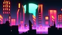 城市 都市 繁华都市 夜景 唯美