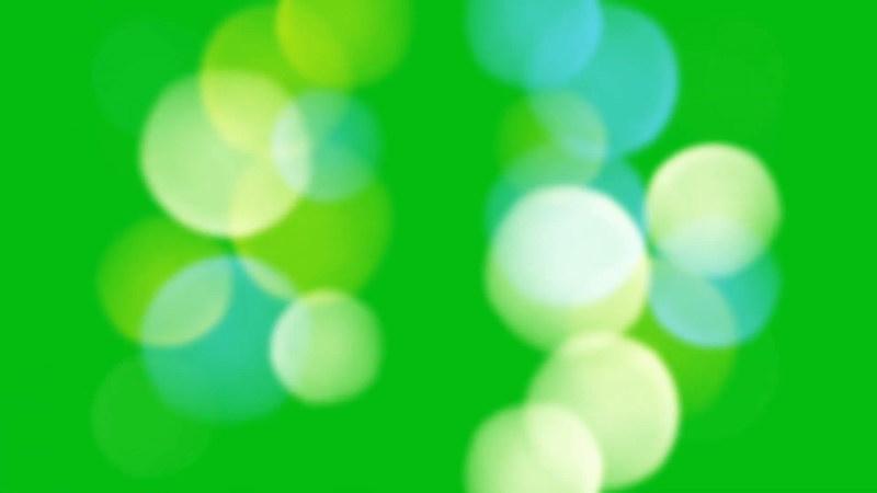 绿屏抠像彩色光斑