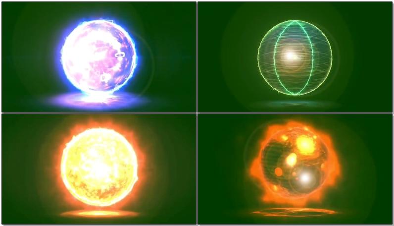 绿屏抠像魔法球
