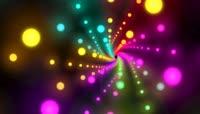 霓虹灯光闪烁舞台背景视频