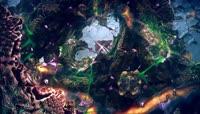 奇幻唯美3D特效晚会LED背景视频