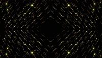 大气时尚流线型金色粒子金色光线背景视频