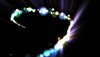 粒子光斑舞台晚会演出背景