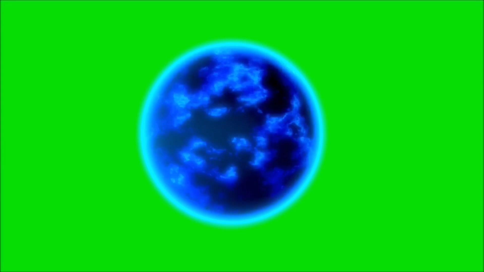 绿屏抠像能量球