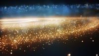 银河粒子飞舞婚礼年会舞台背景视频