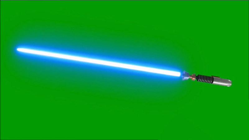 绿屏抠像激光剑
