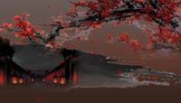 LED-红梅映月暖色