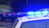 警察出动执勤任务实拍高清视频素材