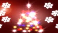 闪光的圣诞树