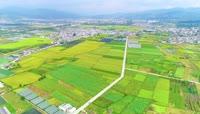 4K农村农业农田航拍视频素材