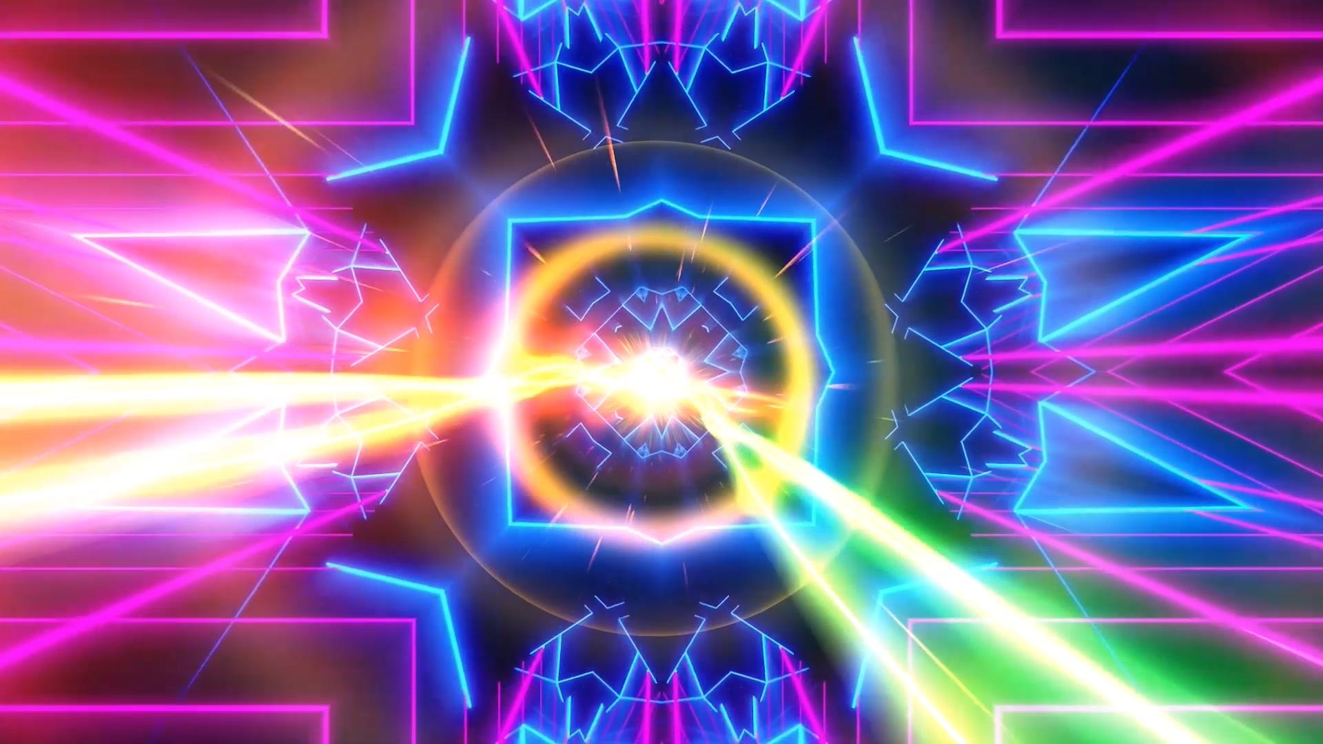 奔跑吧兄弟超级英雄配乐成品LED舞台背景