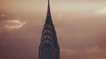 航拍美国纽约城市建筑宣传视频素材