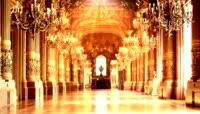 欧式教堂婚礼led视频素材