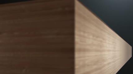 木材细节展示合板合成细节三维动画视频素材