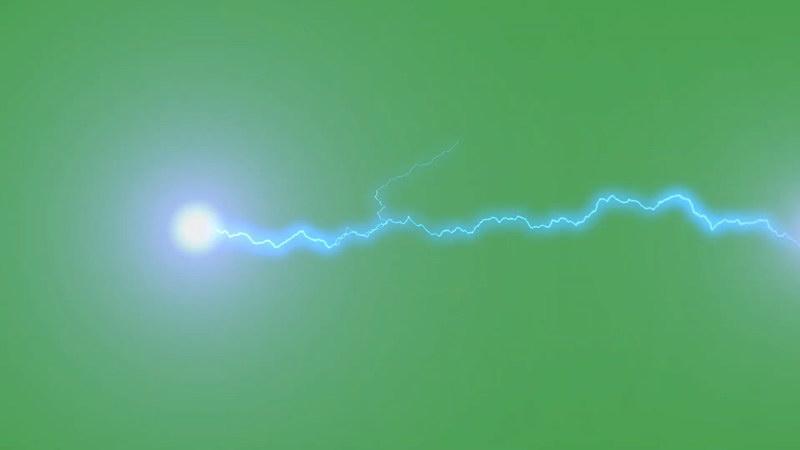 绿屏抠像闪电电力球
