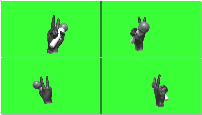绿屏抠像中国好声音标志LOGO